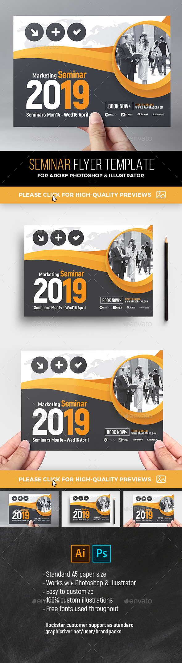 Seminar Flyer Template - Corporate Flyers