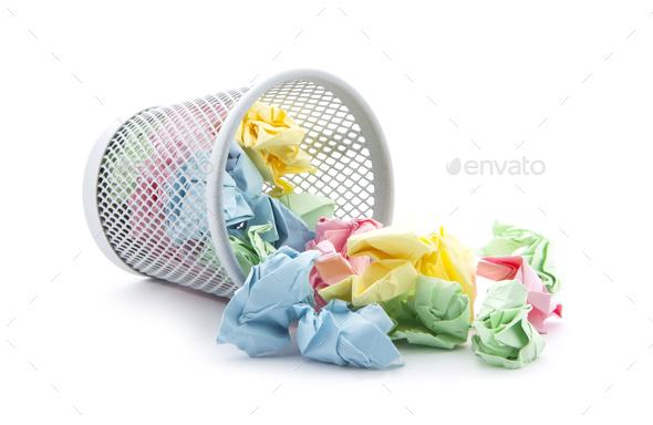 Garbage bin - Stock Photo - Images