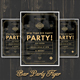 Bar Party Flyer - GraphicRiver Item for Sale
