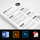 3 Pages Resume Templates - GraphicRiver Item for Sale