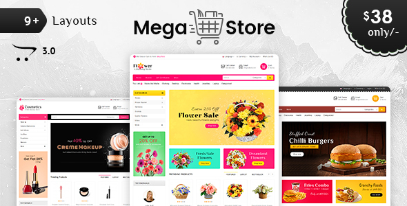 Image of Mega Store - Opencart 3 Multi Purpose Responsive Theme