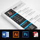 Corporate Resume Design Template - GraphicRiver Item for Sale