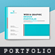 Graphic Design Portfolio (Landscape) - GraphicRiver Item for Sale