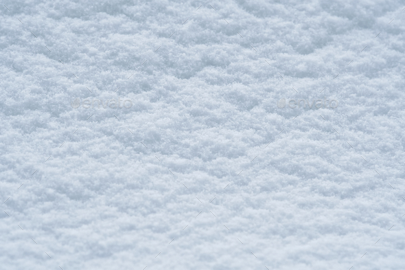 Background of snow texture in blue tone - Stock Photo - Images