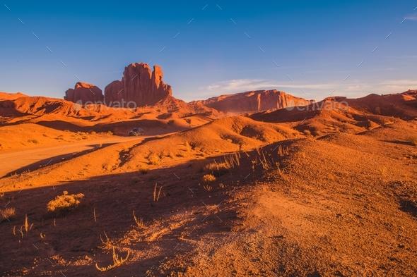 Arizona Scenic Route - Stock Photo - Images