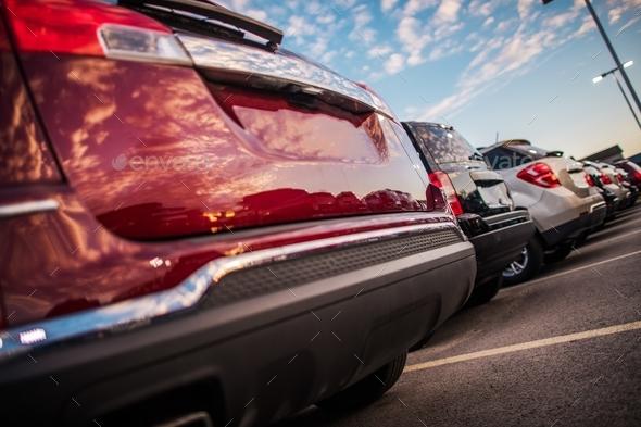 City Public Car Parking - Stock Photo - Images