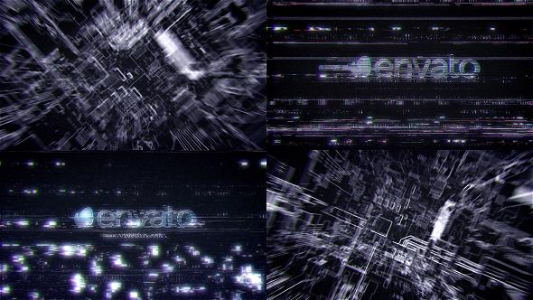 VideoHive Futuristic Hi Tech Glitch Reveal 21195249