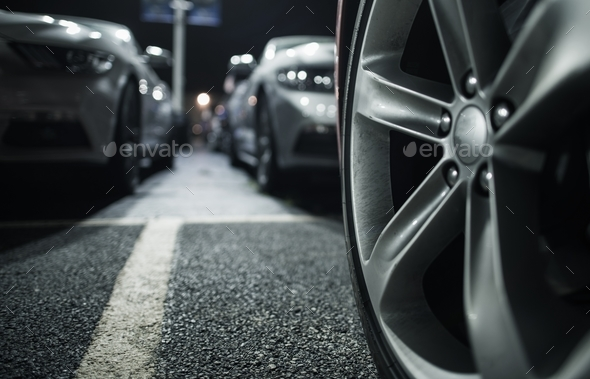 Long Term Car Parking - Stock Photo - Images