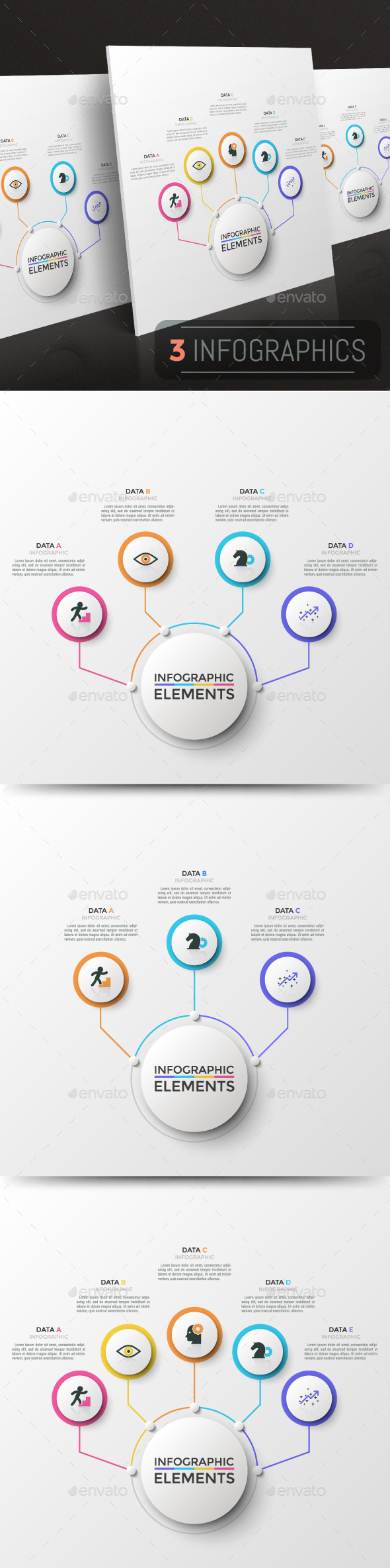 GraphicRiver Modern Infographic Choice Templates 3 Items 21195368