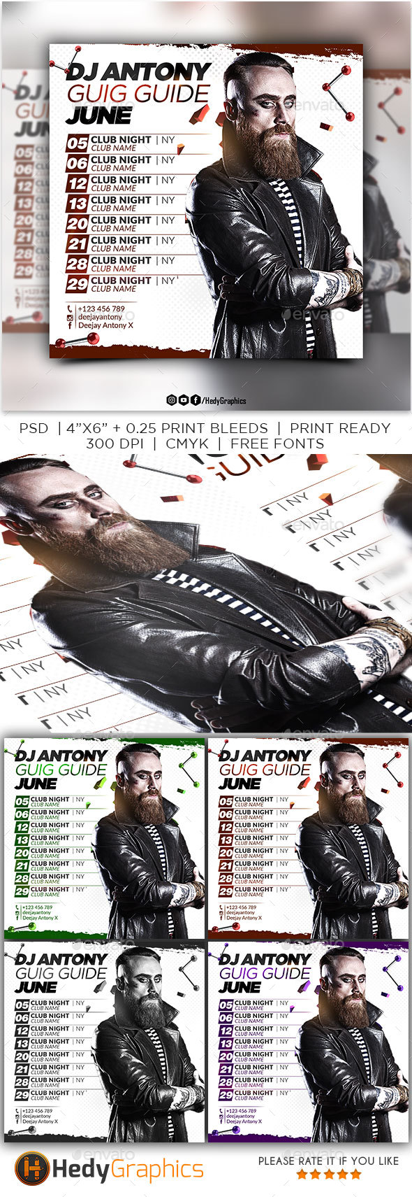 GraphicRiver Dj Guig Guide 21195656