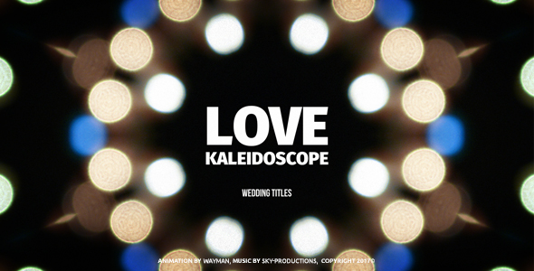 VideoHive Romantic Story Love Kaleidoscope 21195706