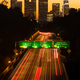 Interstate Highway 110 Leads Commuters into Los Angeles at Sunset - PhotoDune Item for Sale