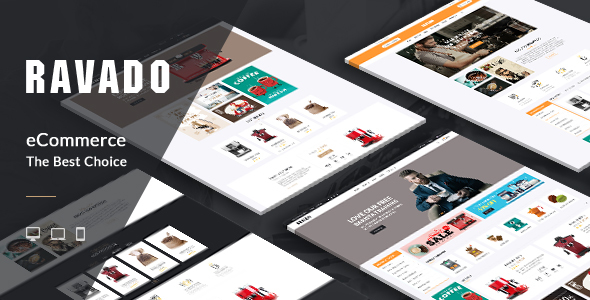 ThemeForest Ravado Coffee Shop Opencart Theme 21195880