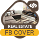 Real Estate FB Cover Timeline Template - AR