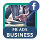 Business Service Facebook Ads Banner - AR