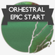 Orchestral Epic Start Logo