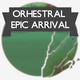 Orchestral Epic Arrival Logo