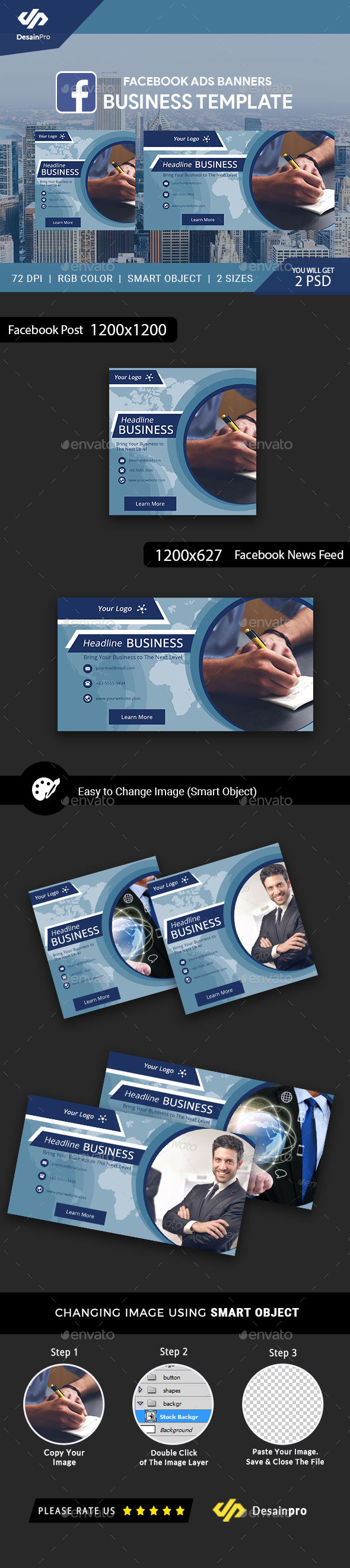 GraphicRiver Business Solutions Facebook Ads Banner AR 21195958