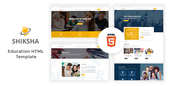 Image of Shiksha - Education HTML5 Template