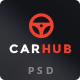 Carhub - Premium Multipurpose Automotive PSD Template - ThemeForest Item for Sale