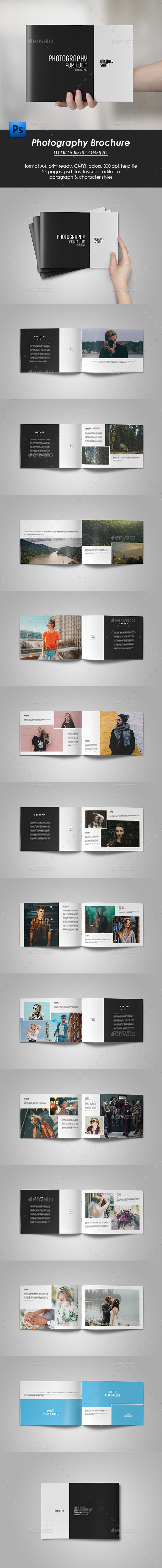 GraphicRiver Photography Portfolio Brochure 21186831