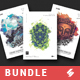 Creative Sound vol5 - Party Flyer Templates Bundle A3