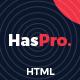 Haspro - Creative Portfolio HTML5 Template