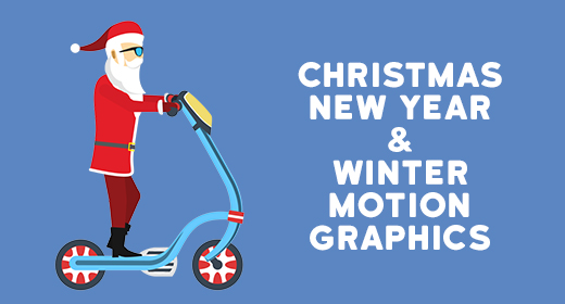 Christmas, New Year and Winter- Motion Graphics