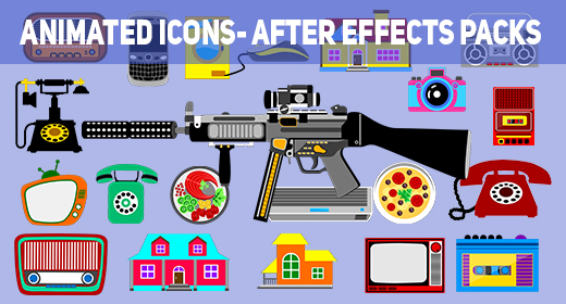 Animated Icons- After Effects