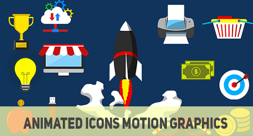 Animated Icons- Motion Graphics