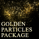 Golden Glitter Particles Package - VideoHive Item for Sale