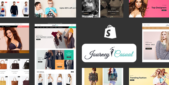 Journey Casual - Multipurpose Fashion Shopify Theme