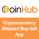 CoinHub - Cryptocurrency (Bitcoin) Buy-Sell App UI Kits - GraphicRiver Item for Sale