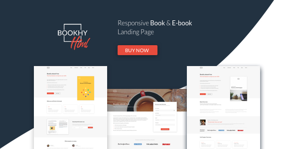 Bookhy - The Perfect Landing Page, Book & Ebook. Boost Your Conversions. by bepd