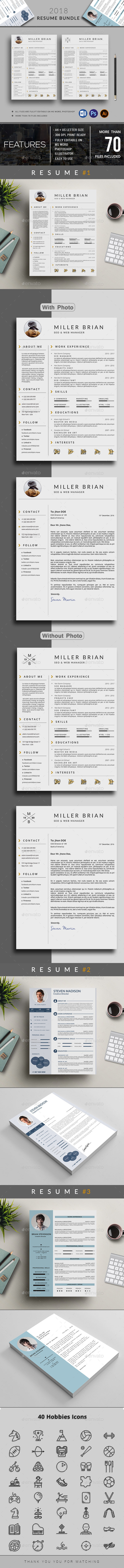 GraphicRiver Resume 21185573