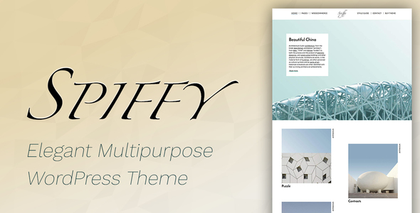 Spiffy - Elegant WooCommerce & WordPress Theme - Creative WordPress