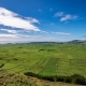 Agriculture in Terceira Panoramic, Azores in Saturated
