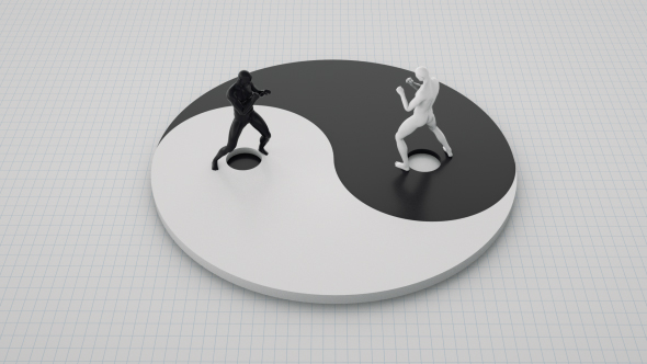 Yin and yang by turalmammadzada videohive for Lit yin yang