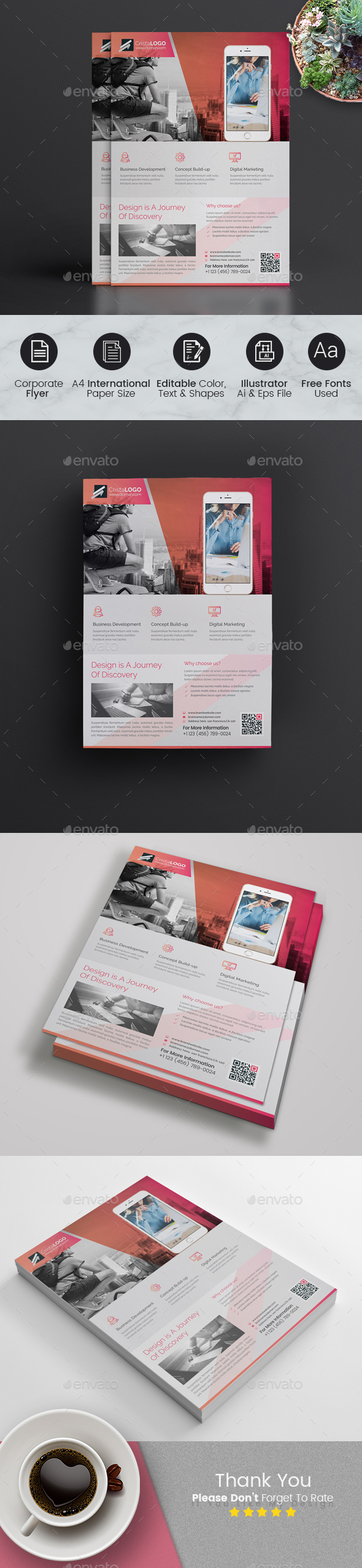 GraphicRiver Business Flyer 20969354