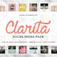Clarita Social Media Pack