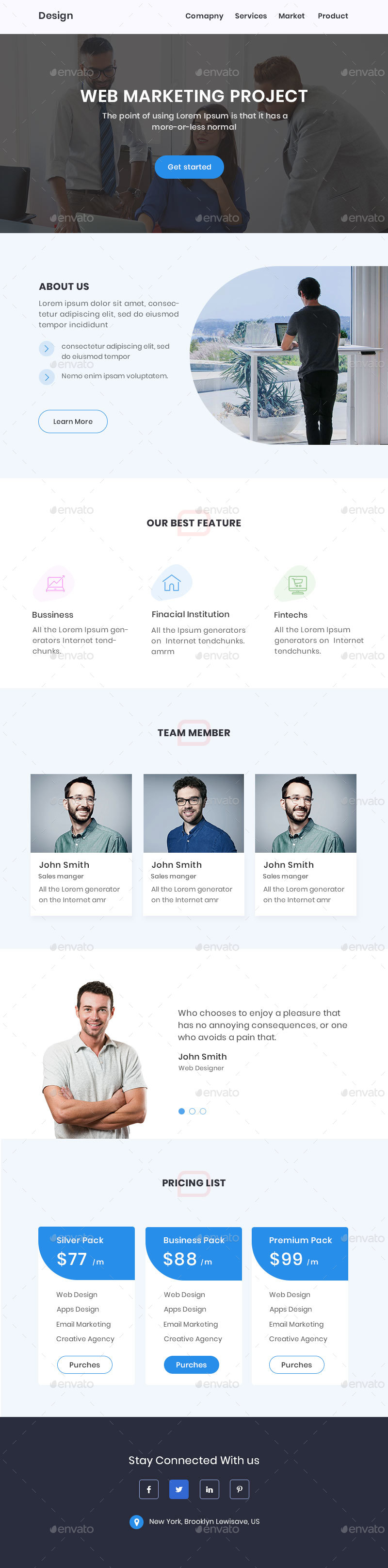 Minimal Email Template By Masump GraphicRiver - Minimal email template