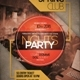 Minimal Party Flyer Vol 8 - GraphicRiver Item for Sale