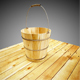 Wooden  old bucket - 3DOcean Item for Sale