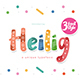 Heilig Display 3 Font - GraphicRiver Item for Sale