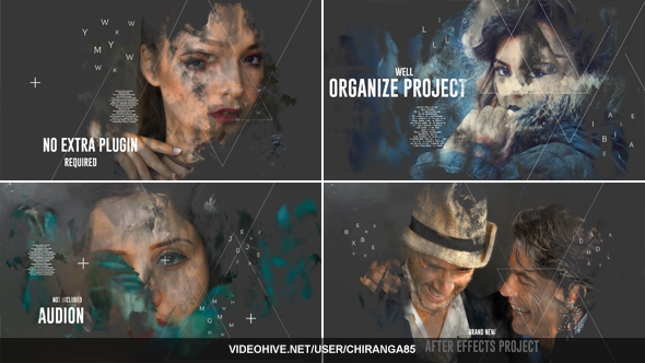 VideoHive Brush Memories 21197443