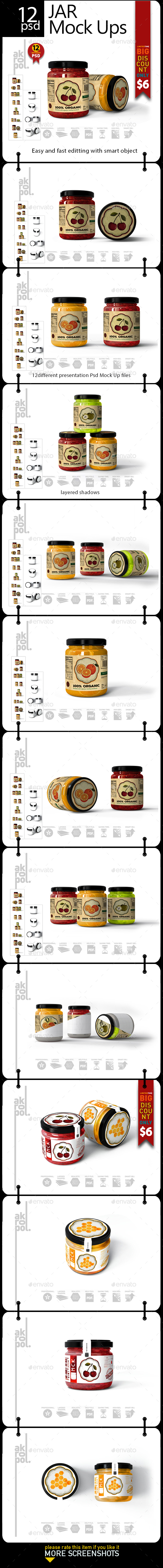 GraphicRiver JAR MOCKUP 21197659