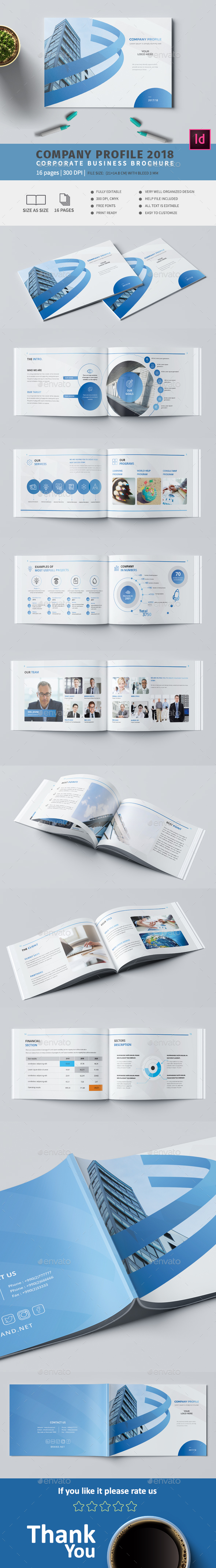 Company A5 Profile - Corporate Brochures