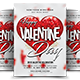 Valentines Day Flyer Invitation