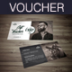 Barber Shop Gift Voucher - GraphicRiver Item for Sale