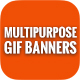 Animated GIF Multipurpose Banner Ads - GraphicRiver Item for Sale